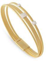 Marco Bicego Masai Triple Strand Diamond Bracelet