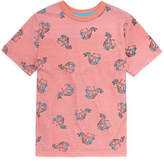 Arizona Short Sleeve Printed Crew Neck T-Shirt Boys 4-20