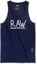 G Star Men's Manes Graphic-Print Logo Tank