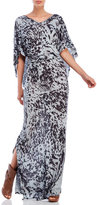 Religion Tremor Printed Jersey Maxi Dress