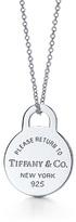 Return to Tiffany™ Round tag pendant