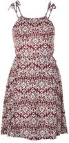 Topshop Tie shoulder sundress