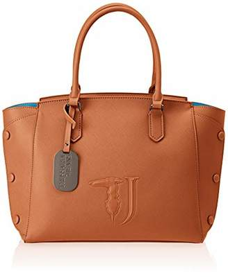 Trussardi Jeans Melissa Shopping Bag Ecoleathe Women's Top-Handle Bag,(W x H x L)
