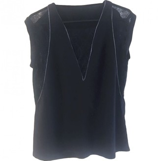 Maje Grey Lace Top for Women