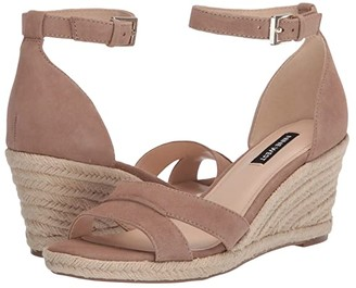 Nine West Jabrina Wedge Sandal (Light Natural) Women's Shoes