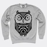 Art Disco Aztec Owl Print Unisex Sweatshirt