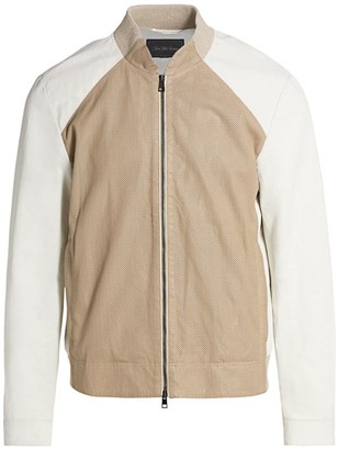 Saks Fifth Avenue COLLECTION Perforated Waterproof Jacket