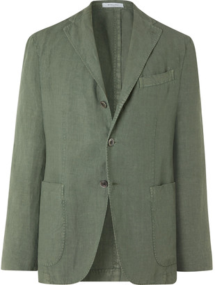 Boglioli Unstructured Linen Suit Jacket