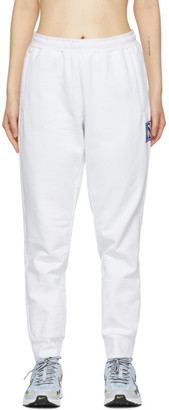 Li-Ning White Cotton Lounge Pants