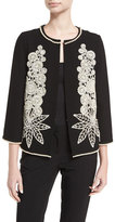 Andrew Gn Pearl Beaded Short Jacket