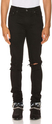 Amiri Broken Jean in Black | FWRD