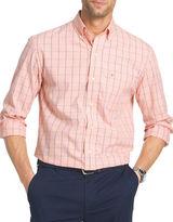 Izod Classic Fit Poplin Windowpane Shirt