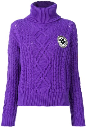 Mr & Mrs Italy Logo Roll-Neck Sweater