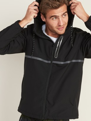 Old Navy Go-H20 Water-Repellent Hooded Soft-Shell Jacket for Men