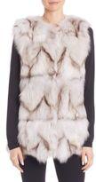 Alberto Makali Fox Fur Vest