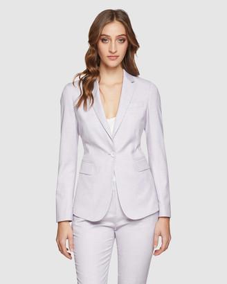 Oxford Pink Check Alexa Suit Jacket