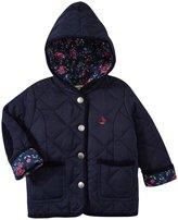 Jo-Jo JoJo Maman Bebe Quilted Jacket (Baby) - Navy-6-12 Months