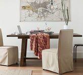 Pottery Barn Bartol Fixed Reclaimed Pine Dining Table