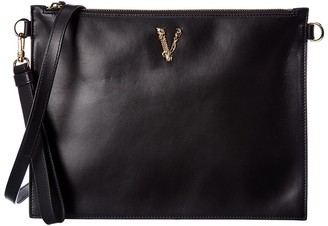 Versace Virtus Leather Pouch