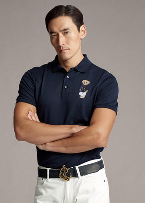 Ralph Lauren Custom Slim Fit Bear Polo