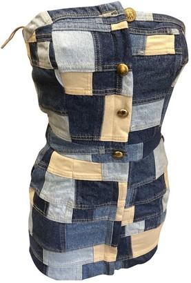 Romeo Gigli Blue Denim - Jeans Dress for Women