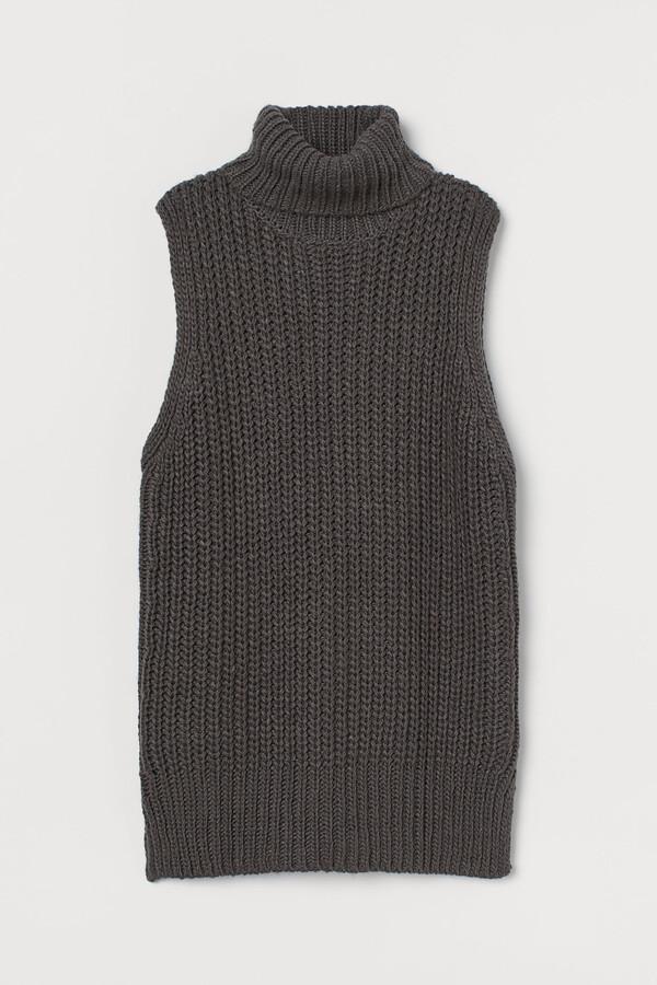 H&M Polo-neck sweater vest
