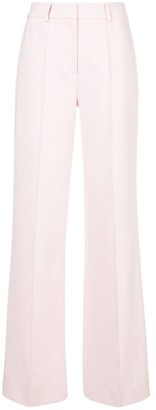 Adam Lippes Relaxed Wide Leg Stretch Pants