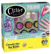 Creativity For Kids Glitter Art Nail Art