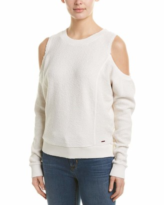 n:philanthropy Women's Maia Reversed Open Shoulder Sweatshirt