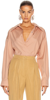 Lemaire Twisted Top in Camel | FWRD