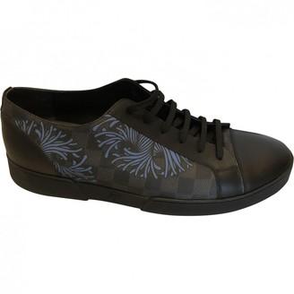 Louis Vuitton Match Up Black Cloth Trainers