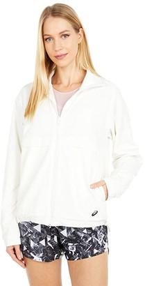 Asics Luxe Traveler Reversible Jacket (Cream) Women's Clothing