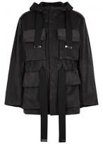 Maison Mihara Yasuhiro Black Faux Suede Jacket