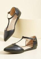 NYLA Shoes Inc. Turn Back Prime Vegan Flat in Black