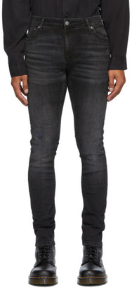 Nudie Jeans Black Dark Desire Jeans