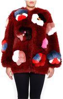 Fendi Flowerland Fur Coat