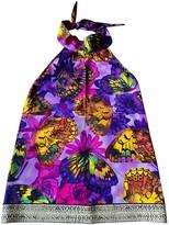 Roberto Cavalli Purple Top for Women
