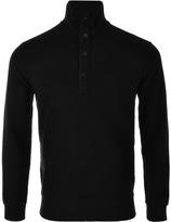 Ralph Lauren Half Zip Sweatshirt Black
