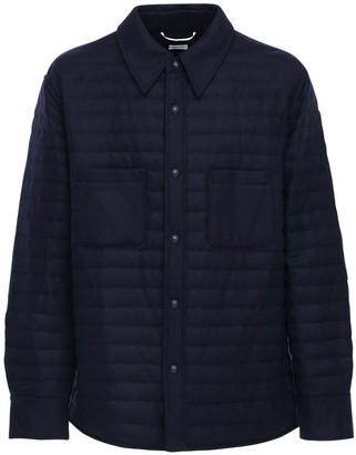 Thom Browne Wool Down Shirt Jacket