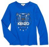 Kenzo Girl's Graphic Tiger Tee