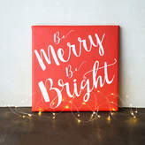 Cathy's Concepts CATHYS CONCEPTS Merry & Bright Gallery Wrapped Canvas