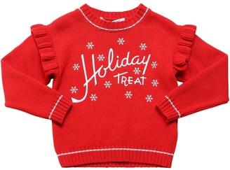 Philosophy di Lorenzo Serafini Christmas Wool Blend Knit Sweater