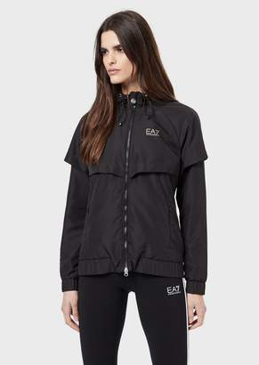 Emporio Armani Ea7 Jacket In Vigor7 Windproof And Water-Repellent Fabric