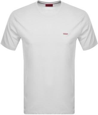 HUGO BOSS Dero203 Crew Neck Short Sleeve T Shirt White