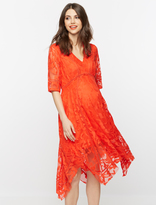 A Pea in the Pod Taylor Lace Maternity Dress