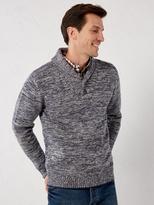 White Stuff Twister shawl neck knit