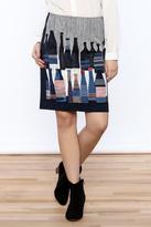 Nic+Zoe Nic + Zoe Spring Bottles Skirt