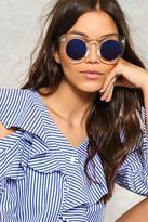 Nasty Gal nastygal Byron Bay Cat-Eye Fashion Glasses