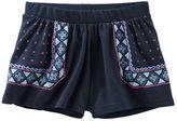 Osh Kosh Puff-Print Culotte Shorts