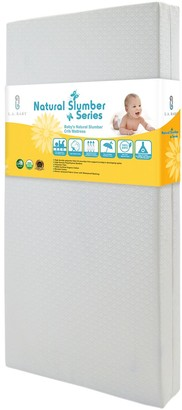 L.A. Baby Baby's Natural Slumber Crib Mattress with Seamless Edge
